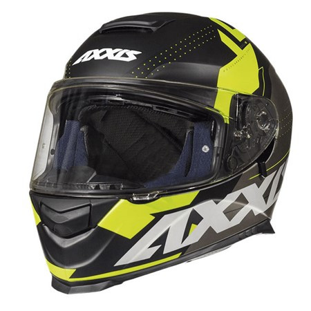 AXXIS EAGLE BLACK/FLUOR YELLOW