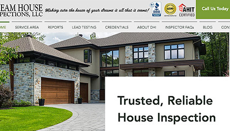 Dream House Inspections New Website