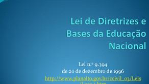 Lei de Diretrizes e Bases da Educação Nacional - 1996
