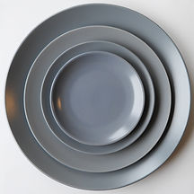 Blue Grey Stoneware Set