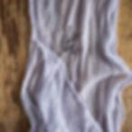 Lavender Gauze Table Runner