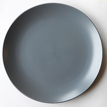Blue Grey Slate Charger