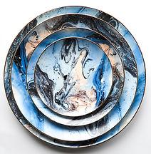Watercolour Dinnerware Set