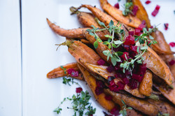 Moroccon Roasted Baby Carrots