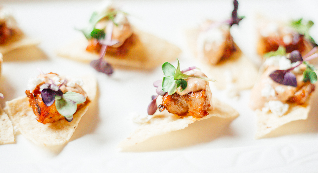 Mexican Pork Tinga Tostadas