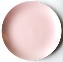 Blush Stoneware Charger Plate