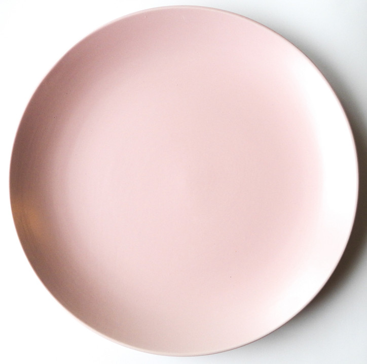 Blush Stoneware Charger