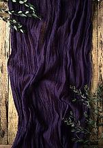 Dark Violet Gauze Table Runner