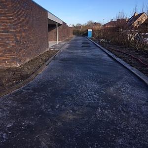Bredene- Klaar om te asfalteren