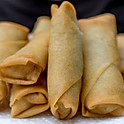 FRIED SQUID SPRING ROLLS (x6)