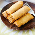 FRIED DUCK SPRING ROLLS