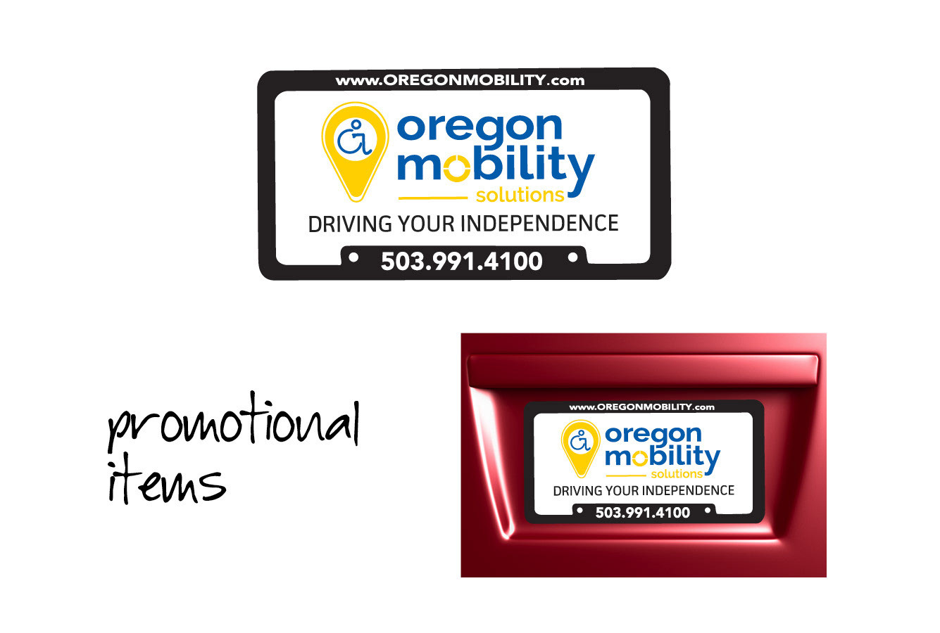 Oregon Mobility License Plates