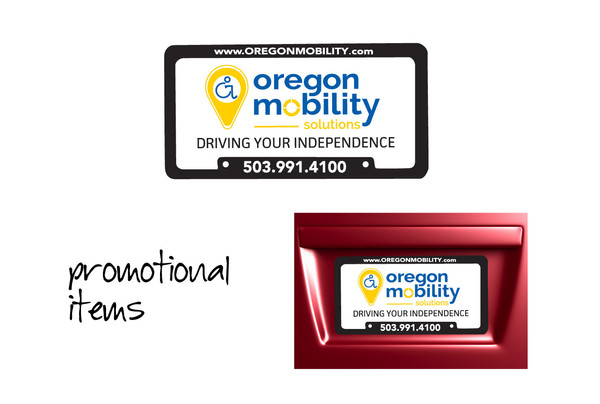 Oregon Mobility License Plates