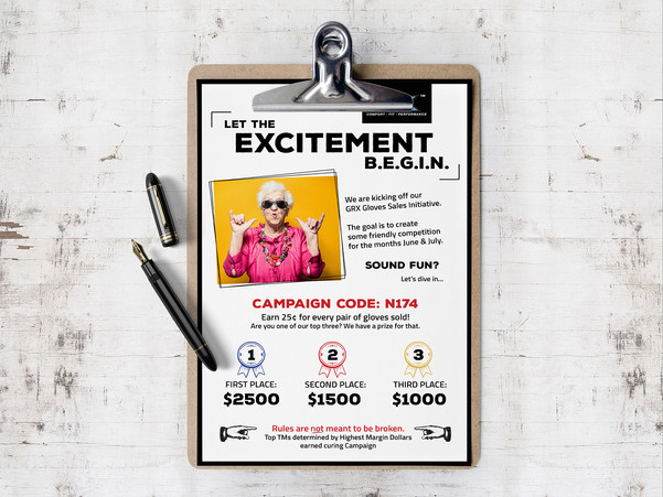 Sales Flyer Contest
