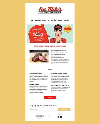 Fat Milos Email Marketing