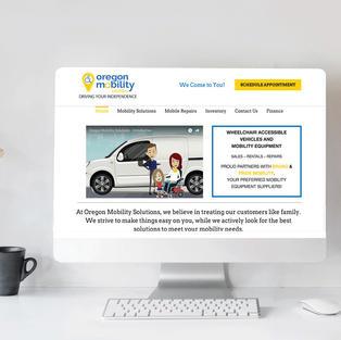 Oregon Mobility Web Design