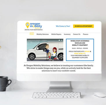 Oregon Mobility Web Design