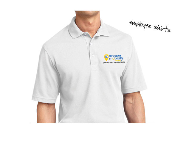 Oregon Mobility Employee Shirts