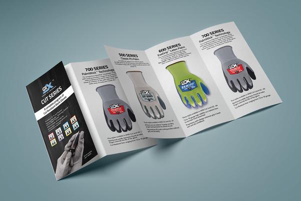 Industrial Glove Tri-fold Brochure