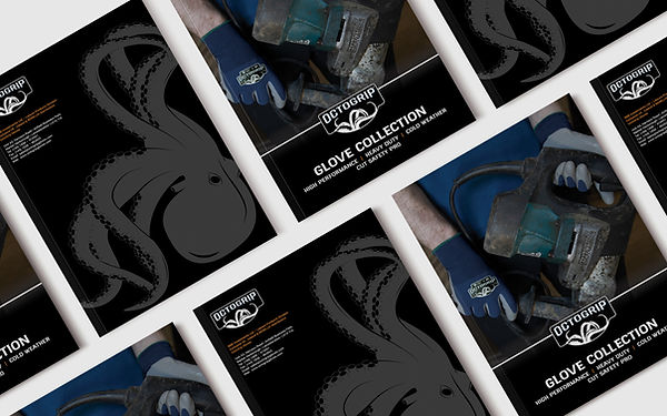 OctoGrip Industrial Glove Catalog Booklet