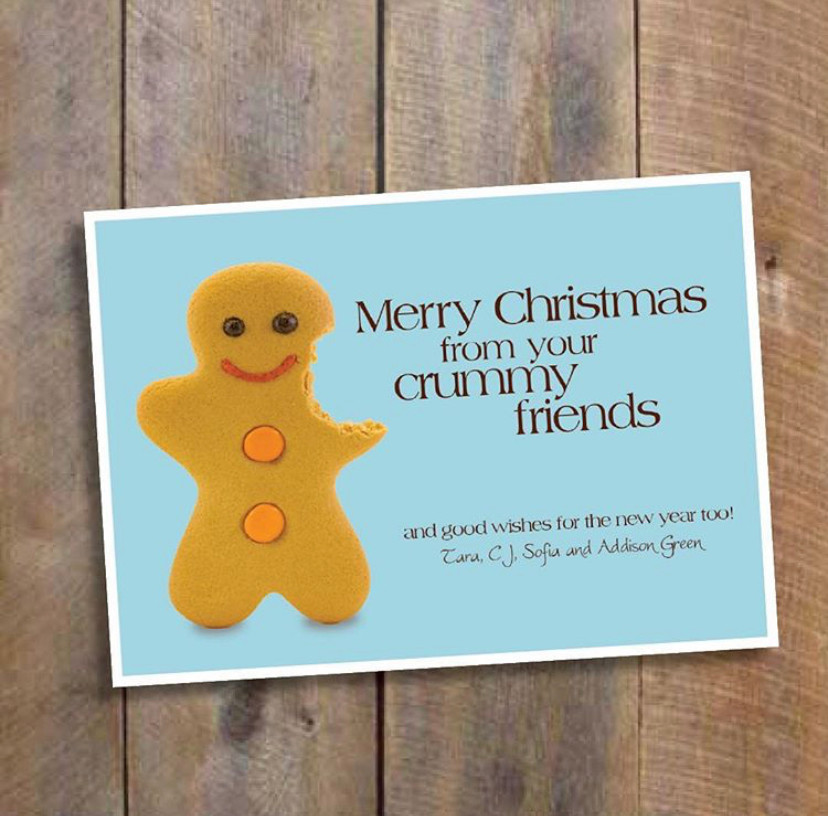 Funny clever christmas cards