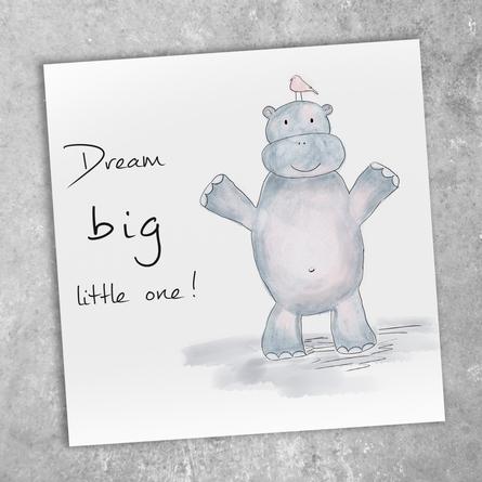 Geboort Dream Big Little Girl