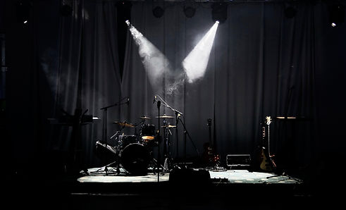 Stage in Lights