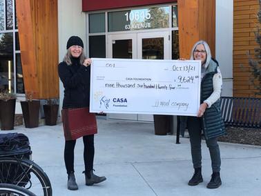 Donor Love! Edmonton's jj wool raises $9,624