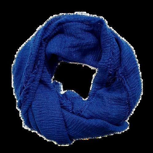 Crinkle Cotton - Royal Blue
