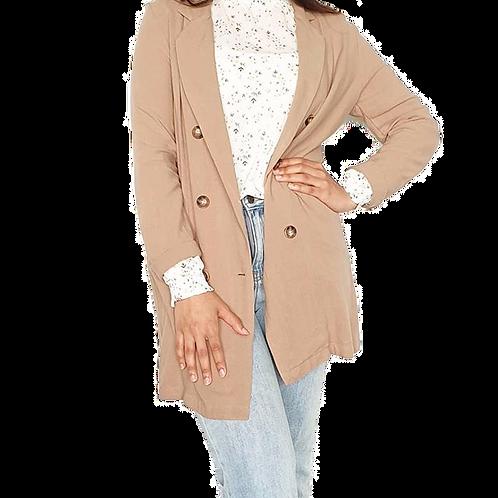 Linen Jacket Beige