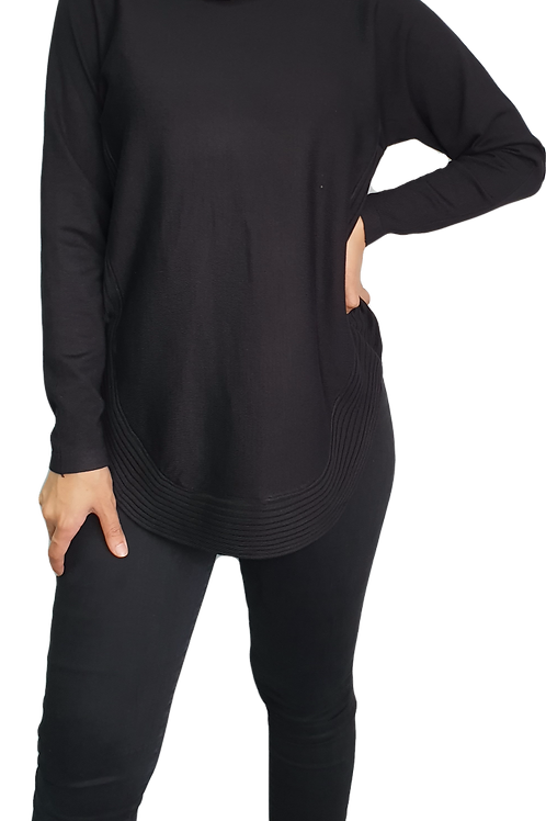 Lana Knit Top Black