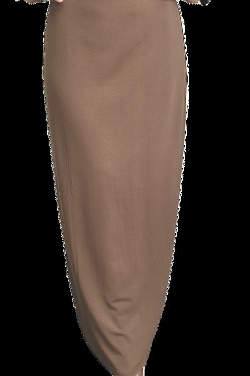 Ayah Pencil Skirt Khaki