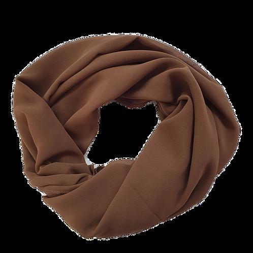 Chiffon Crepe - Brown (12)