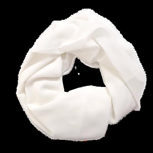 Chiffon Crepe - Off White (8)