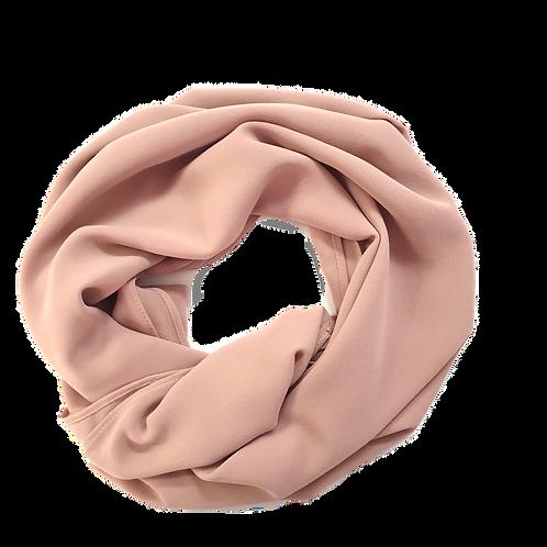 Chiffon Crepe - Brown Pink (14)
