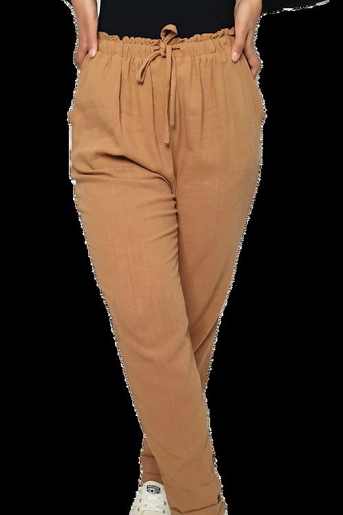 Linen Pants Camel