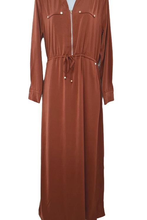 Nisha Maxi Dress Rust