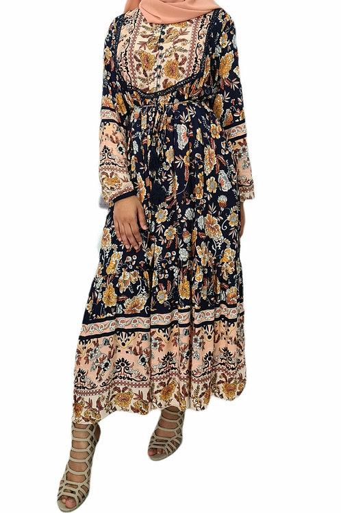 Nahala Midi Dress