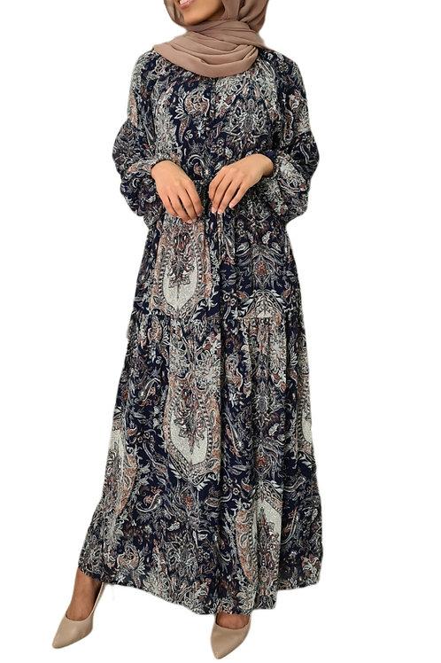 Adalynn Maxi Dress Navy