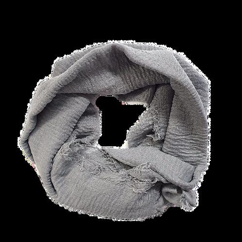 Crinkle Cotton - Light Grey