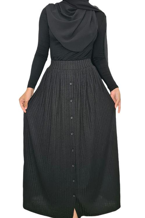 Willow Maxi Skirt Black