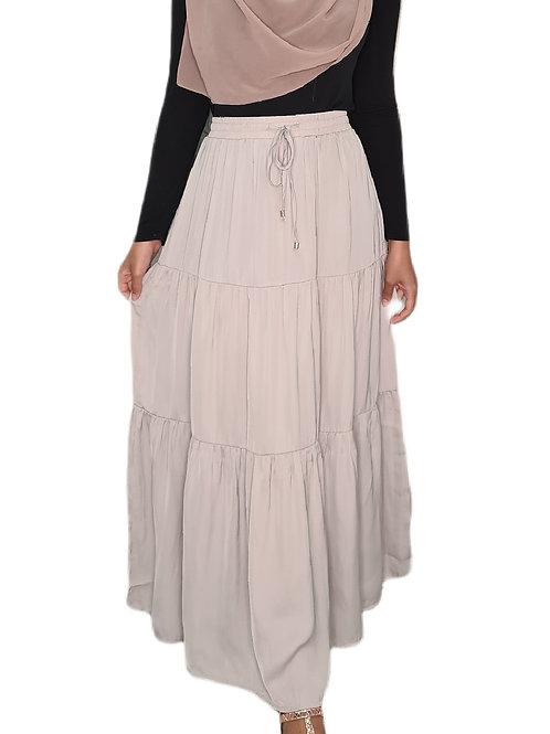 Meera Maxi Skirt Grey