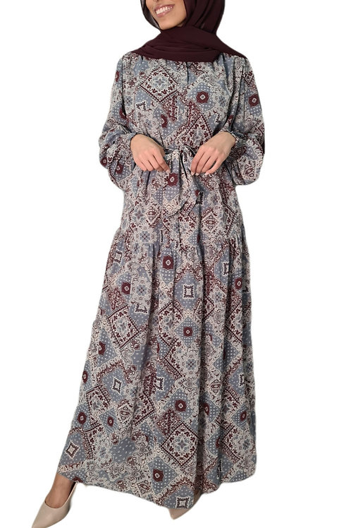 Zoya Maxi Dress Blue