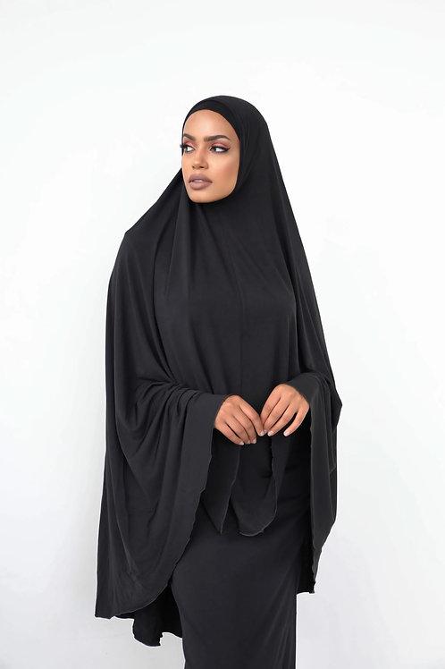 Jilbab Sleeveless Premium Black