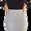 Thumbnail: Knit Ribbed Skirt Grey