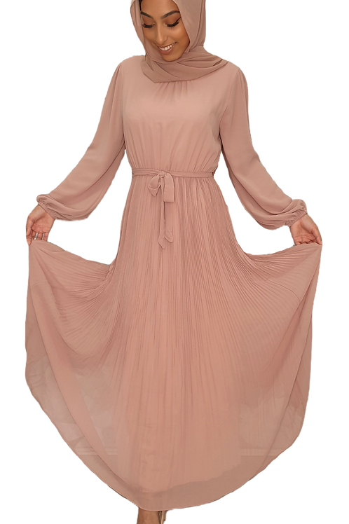 Rosemary Dress Dusty Pink