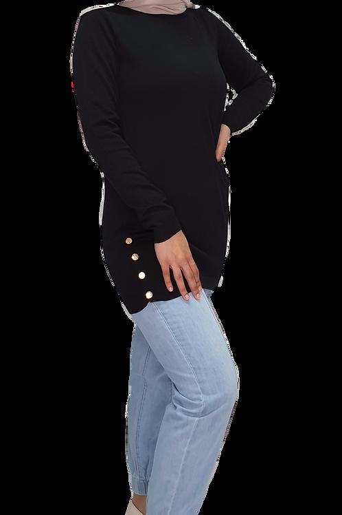 Heidi Knit Black