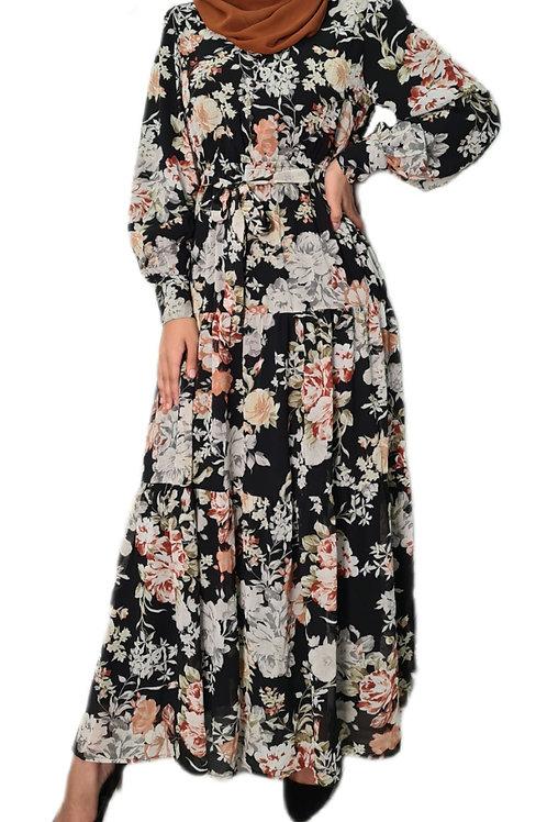 Gabrielle Floral Dress