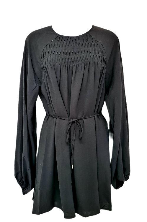 Amara Cotton Top Black