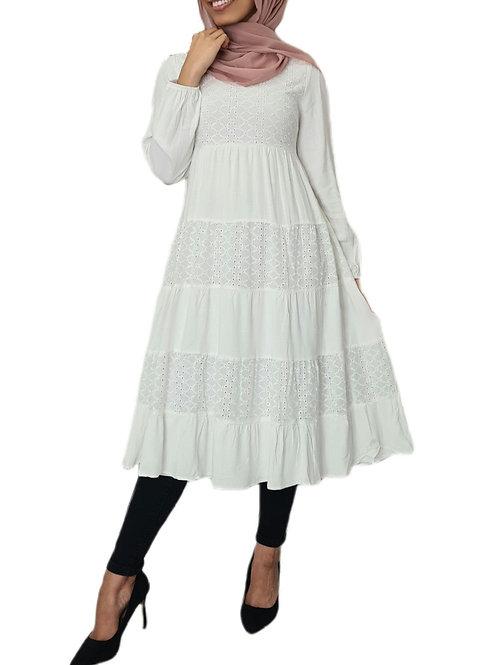 Lily Midi Lace Dress